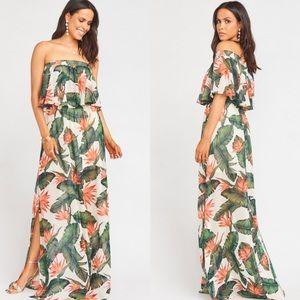 Show Me Your Mumu Hacienda Maxi Dress | L